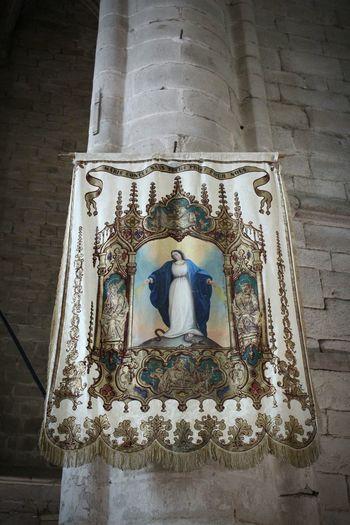 Étendard Spirituality Religion History Sainte Marie Sainte Vierge
