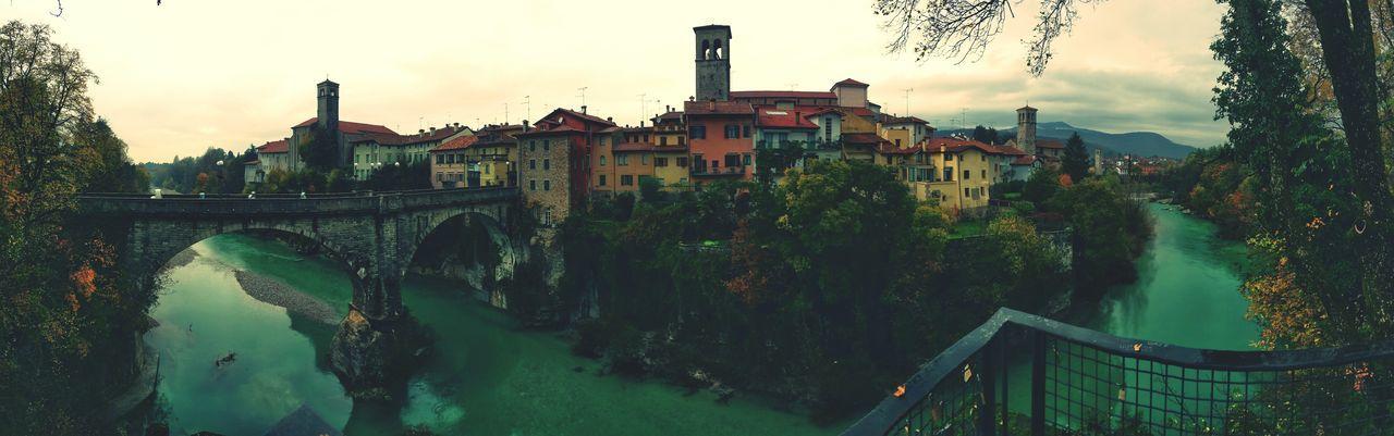 Un anno fa a Cividale Cividale Del Friuli Ponte Del Diavolo Natisone Bridge River Udine Friuliveneziagiulia Friuli