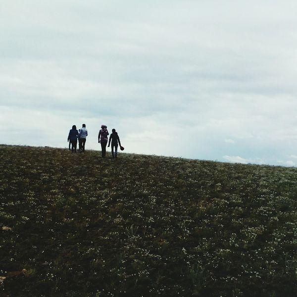 Cloud - Sky People Group Of People Togetherness Day Landscape Sky Nature Buryatia, Russia, Ulan-Ude Flimsiness