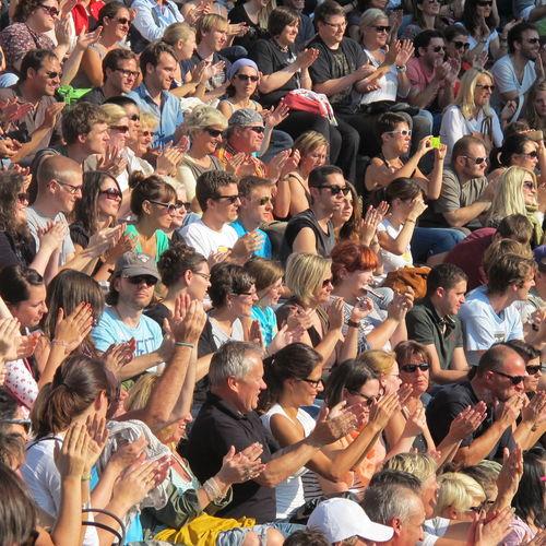 Full frame shot of people