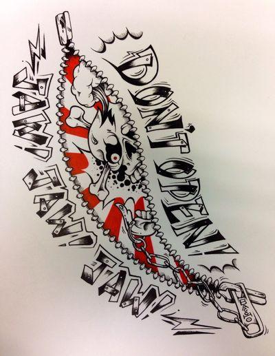 Art Tattoo Thunder Alley nanotattoo.com