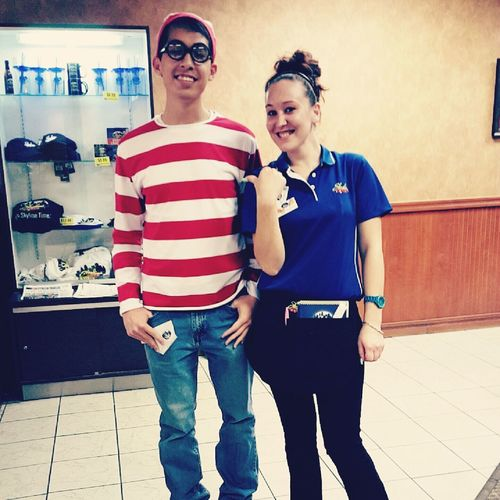 Look who I found! Where's Waldo? Handsome With Style Smile❤ Me And My Randomness
