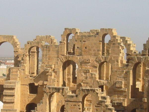 El Jem Architecture Ancient Civilization