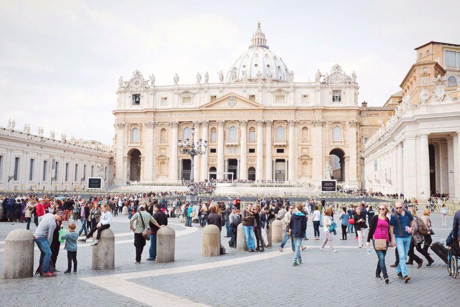 St. Peter's basilica // Priime Priimephoto X100S FUJIFILM X100S Fuji X100s Streetphotography VaticanCity Vatican Dome Basilica