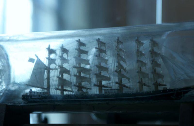 Buddelschiff Schiff Antiques Bottleship Nautical Artwork Nautical Theme Sailingship Ship