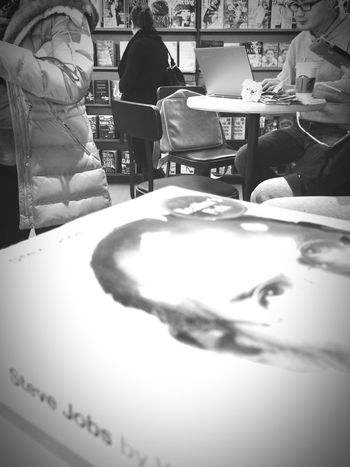 So many good books. So little time. Chapters Indigo Books Exploring Biography IPhoneography Black And White