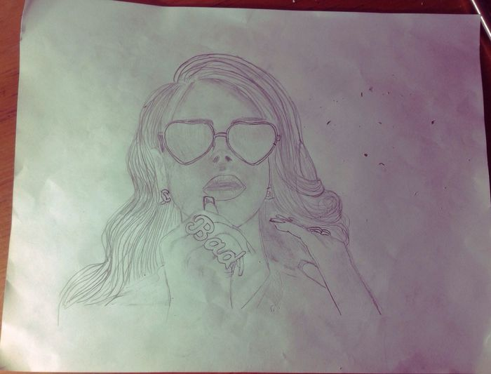 Lana Del Rey (Unfinished) Drawingtime MyDrawing LanaDelRey Art