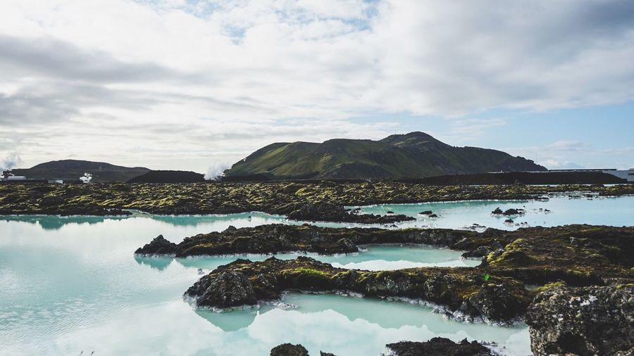 Blue Lagoon Iceland Nature Manmadestructures First Eyeem Photo