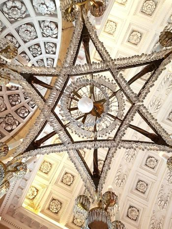 Antique Chandelier Ceiling Soestdijk Soestdijk Palace Estate Architecture No People Close-up Pattern Indoors  Luxury