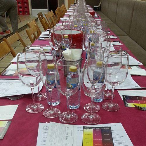 Todo preparado para el Wineuptour en Castellón con los vinos de @verumbodegas Martincodax Bodegasvaldemar @agustitorellomatacava @fincaconstancia Torremilanos @fincamoncloa y @bodegasberonia