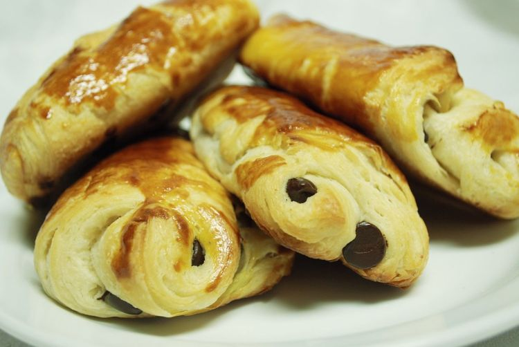 Baked Baking Chocolate Chocolate Croissants Croissants Food Pains Au Chocolat Pastries Pastry Table Temptation