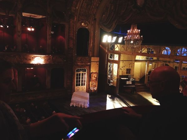 Real People Sitting Berliner Ensemble Theatre Sitting