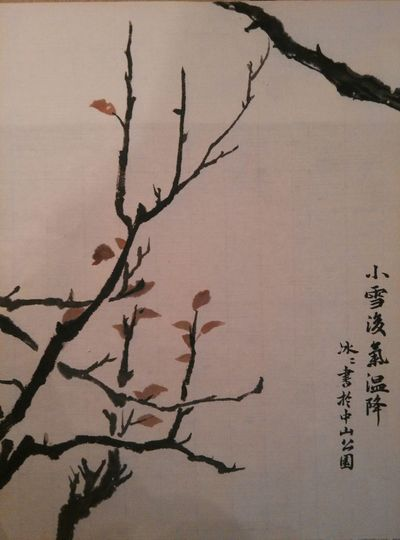 Art, Drawing, Creativity Winter Trees