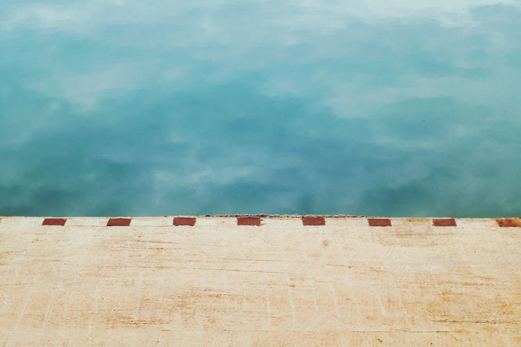 Outdoors Water Nature Sky Edges Minimalism