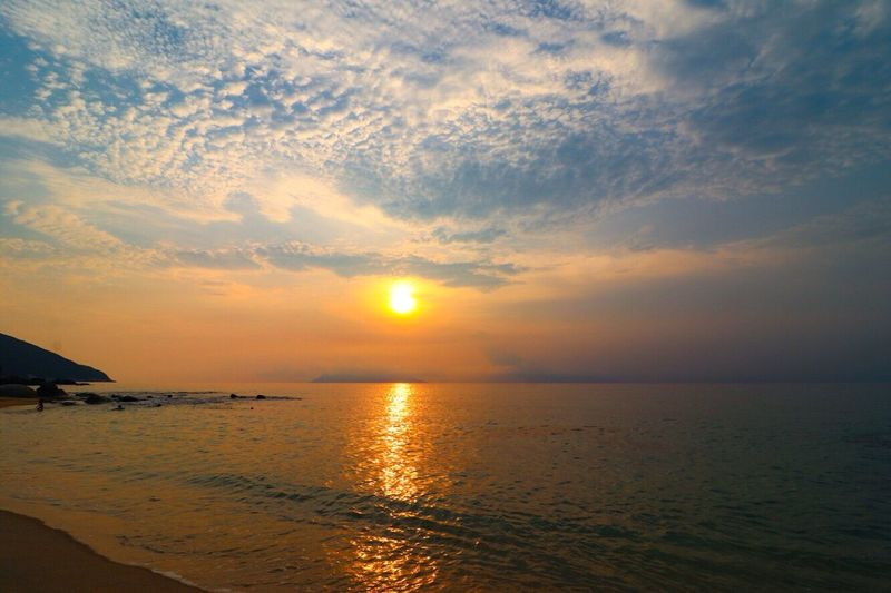 屋久島(*´╰╯`๓)♬ Japan Japan Photography Sea Ocean Sunset Glow