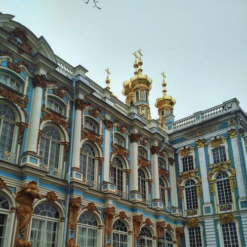 Architecture Travel Destinations Architectural Column Sky Saint Petersburg Carskoe Selo Phone Camera Phone PhonePhotography