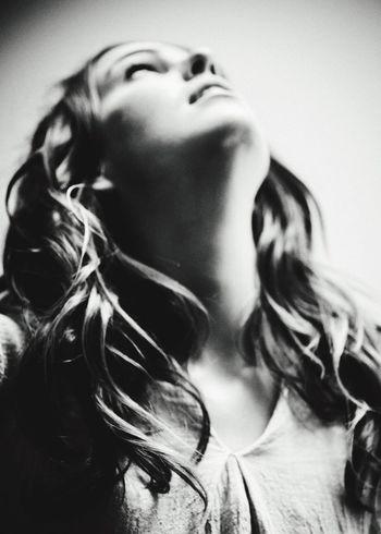 Beautiful Woman Blackandwhite Photography Ilfordpan100