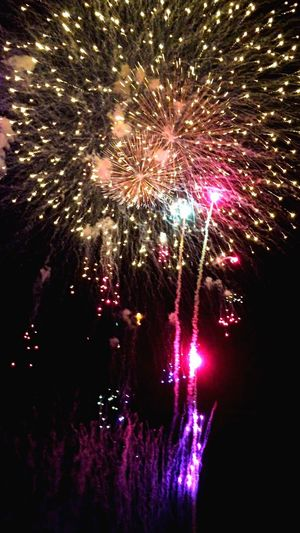 Tokyo,Japan Japan Adachi Festival Fireworks 7/23