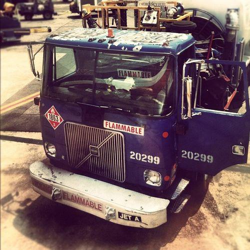 Anyone Got A Match? Truck Beast Aa Laguardia Paintstripped Fueltruck