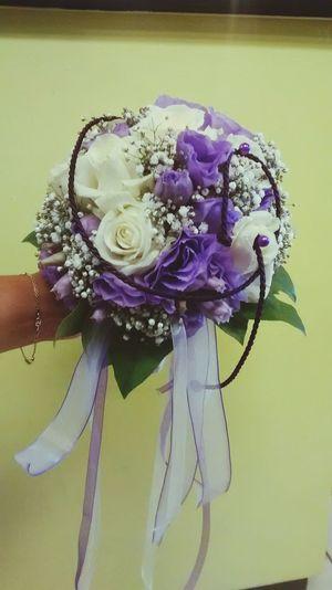 Mariage Fabilaure Fleuriste Flowers Bouquet Mariee Purper Violet Mariage ❤ Fabilaurefleuristechateauarnoux