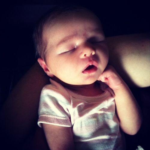 Charli ?❤? Baby Cousin 9days Charli sleepy naptime