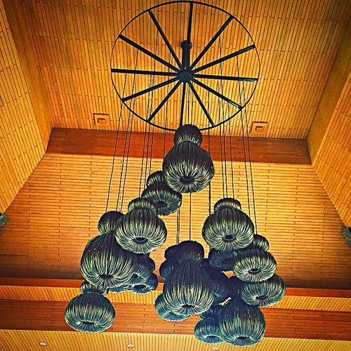 Beautiful View Hanging Out Beautiful Decoration Hanging Lamps Taking Photo Samaya Resort Bali Ratan Ceiling Lights Lamps Design