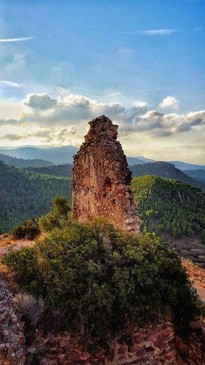 Olocau Castillo Del Real Olocau Senderismo Paisaje Ruina Ruins Castel Sierra Calderona Olocau Go Higher