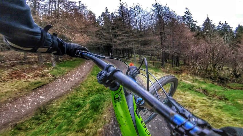 Glentress Freeride! MTB Mtblife Lifebehindbars Loamlife Enduromtb Downhill/ Freeride MTB ADVENTURE Sport Mtbpassion Cycling Airtime Gopro Bicycle Riding First Eyeem Photo Action Shot