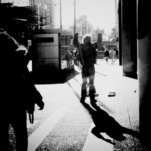 "Andrography Phoneography Streetphoto_bw Vignette For Android Shuttermag ""No Orchestra"""
