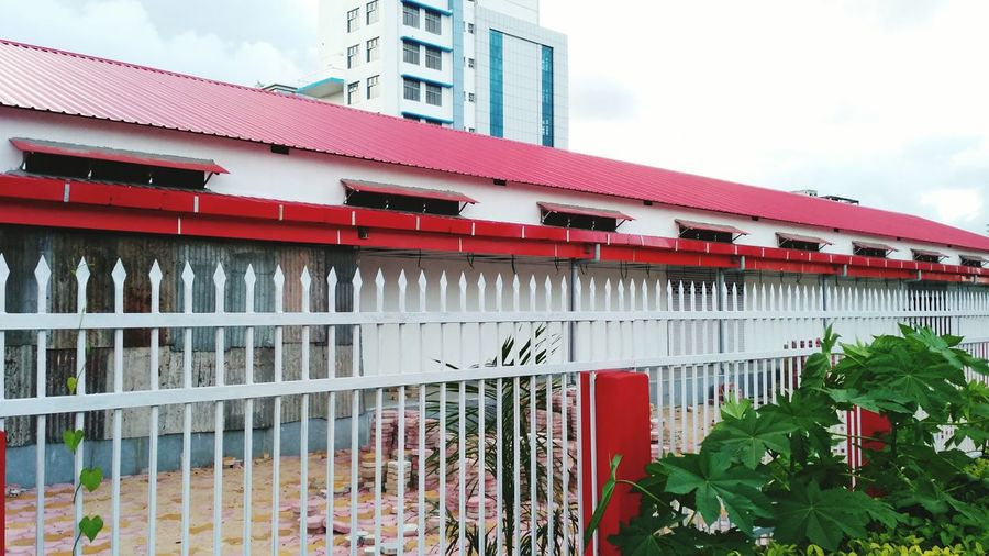 Architecture Red Built Structure Building Exterior Cloud - Sky Sky Outdoors No People Nature City Day