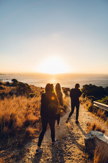 Cape Town Freedom Fun Quality Time Sisterhood Sunset_collection Traveling View Wanderlust Adventure Beauty In Nature Capetown Coast Enjoying Life Goldenhour Grils Laughter Long Hair Outdoors Roadtrip Sea Southafrica Sunset Windy Women Fresh On Market 2017