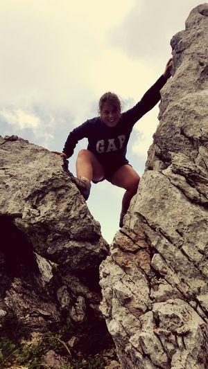 On A Hike Mountain Goat Nature Take A Break ✌❤