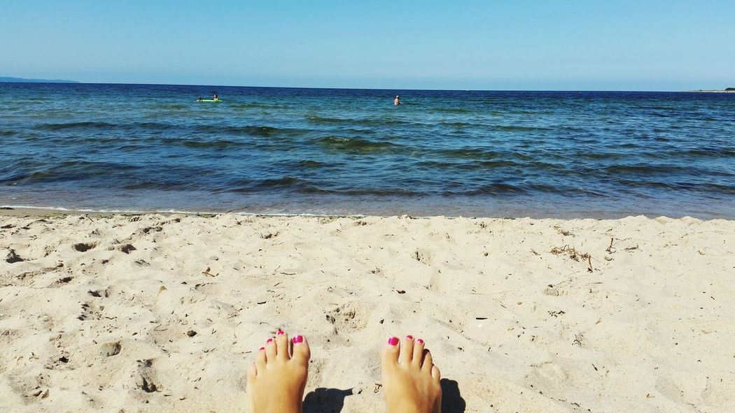 Holiday POV Beach Water_collection Relaxing Hanging Out Nailpolish Ocean View