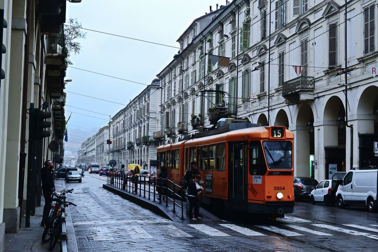 City Transportation Travel Mode Of Transport Built Structure Cable Car Public Transportation Architecture Building Exterior Outdoors Business Finance And Industry Tram Sky Day No People Torino Italianphotographer Italy Cartolina