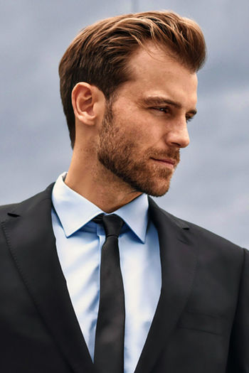 Adult Well-dressed Headshot Beard Businessman Suit Portrait Outdoors Me :)  Suitandtie Suit Up Profile View Only Men Business Day