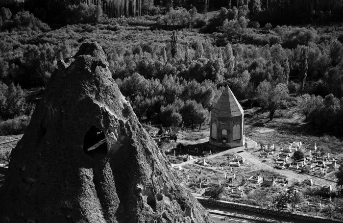 İhlara Valley Cemetary Triangle Triangle Shape Tomb No People Nature Outdoors Built Structure Tree Architecture Day