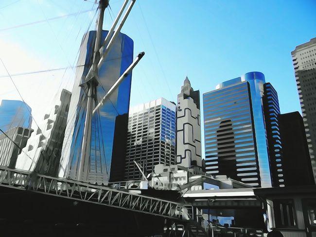 Newyork Downtown Manhattan Bridge Broklyn Bridge