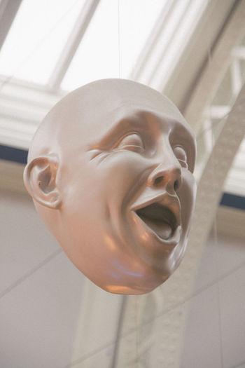 Expressions Facial Expressions Glasgow  Human Representation Indoors  Kelvingrove Scotland Sculpture Statue Suprised