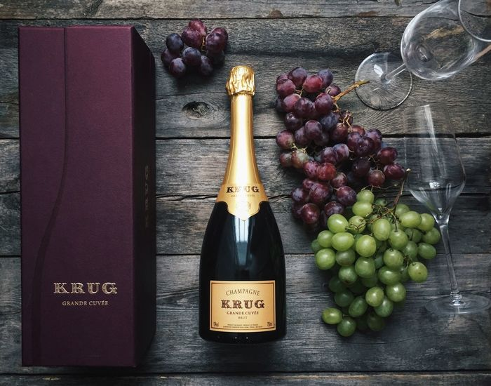 Wine Moments Food And Drink Table Champagne Krug