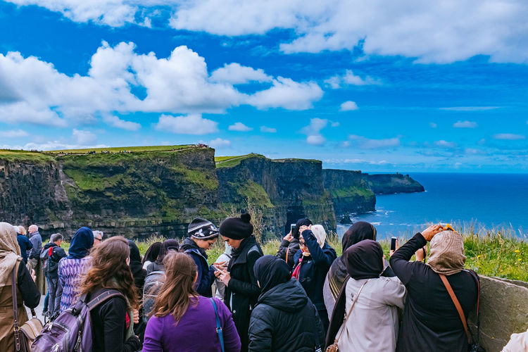 Cliffs Of Moher Cliffs Cliffs Of Moher  Cliffsandsea Cliffside Cliffsofmoher Ireland Ireland🍀 Tourists