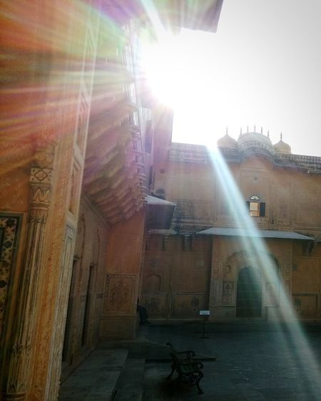 Rajasthan Sunshine Tadaa Community Fortress India Eyem Gallery Light Buildings ArtWork
