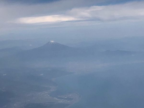 富士山*\(^o^)/* 本日は早い到着で、また安全運航ありがとうございました。#スカイマーク #SKYMARK Skymark Airlines Skymark Mtfuji Cloud - Sky Sky Scenics - Nature Beauty In Nature Mountain No People Aerial View