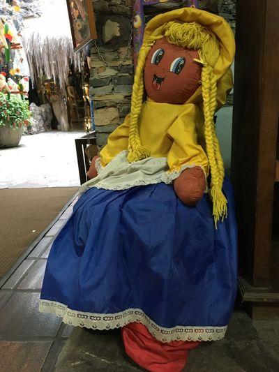 El Hatillo Arts And Crafts Toys Toy Indoors  Colrful Venezuelan Doll Venezuela Folklore Folk Ragdoll Doll