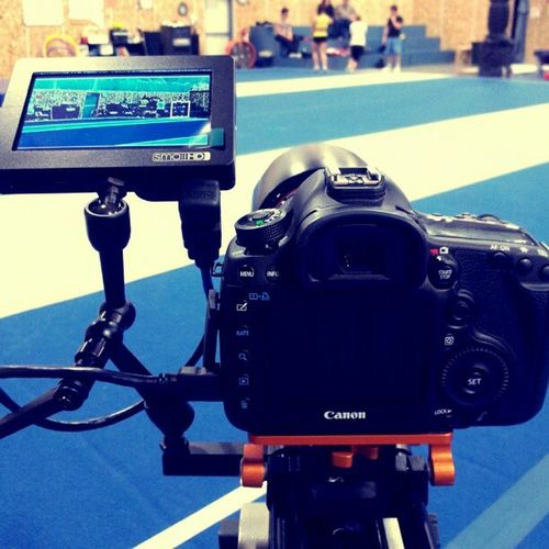 Shooting some tumbling & stunting w my new Smallhd DP4 & 5dmkiii love the focus w the dp4