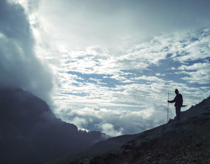 First Eyem Photo My First Trip To Himalayas Ali Bugiyal Shepherd First Eyeem Photo EyeEmNewHere