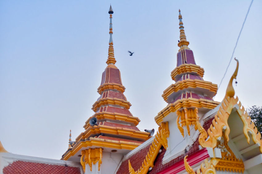 EyeEm Gallery EyeEm Selects EyeEm Best Shots Ornate Outdoors Travel Destinations Tower Travel Nature Gold Colored Spire  Clear Sky Building No People Building Exterior Sky Low Angle View Architecture Built Structure Spirituality Belief Religion Place Of Worship Thaland Phitsanulok