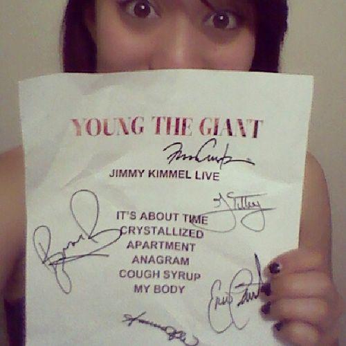 Youngthegiant  Concertsetlist Jimmykimmellive