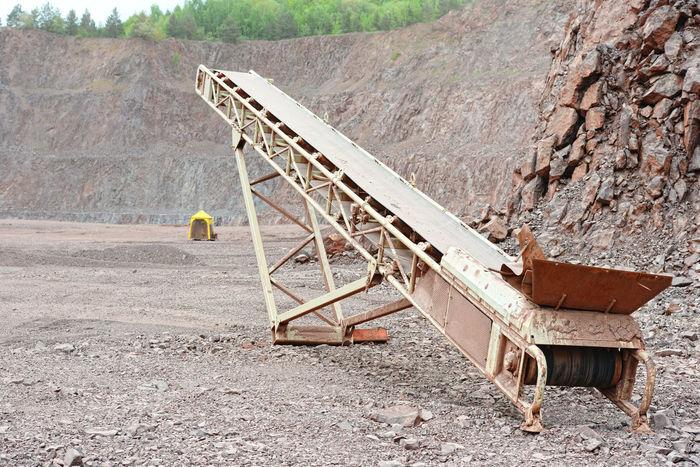 Conveyor belt in an open pit mine Pit Mining Industrial Landscapes Industrial Industry Steinbruch Bergbau Mining Industry Mine Quarry Conveyor Belt Conveyor  Conveyorbelts
