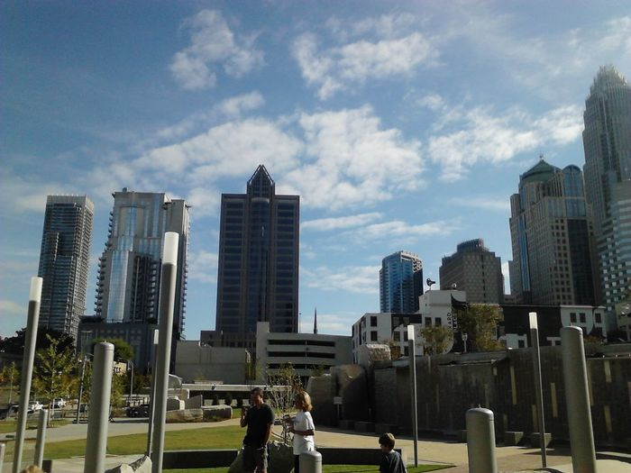Charlotte Weekend Charlotte Skyline Cityscapes A Walk In The Park On Sunday