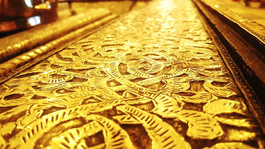 Gilding Moroccan Gilding Backgrounds No People Indoors  Beauty In Nature Moroccanstyle Moroccan Artisanal Moroccan Architecture Moroccan Style Marrakech, Morocco Marrakech